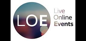 - Logo LiveOnlineEvents UHTT Partner - Triathlon op de Utrechtse Heuvelrug -