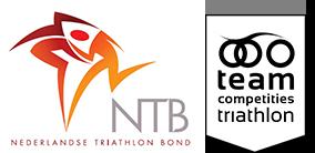 - Logo NTB Teamcompetities UHTT Partner - Triathlon op de Utrechtse Heuvelrug -