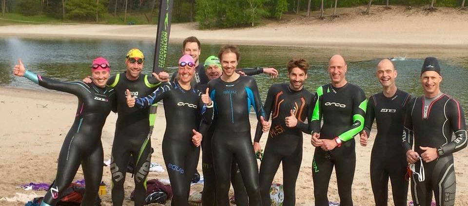 mooie-trainingslocaties, algemeen - Open Water Zwemmen training henschotermeer UHTT 960x423 - In de zomer maandagavond open water zwemtraining  in het Henschotermeer - training, open water, henschotermeer, 2019